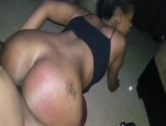 Girlfriend Throat and Ass Fucked after being a Bad Girl